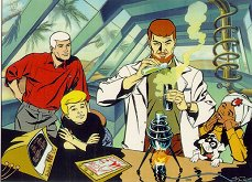 Click here to listen to the quot adventures of johnny quest quot theme song in