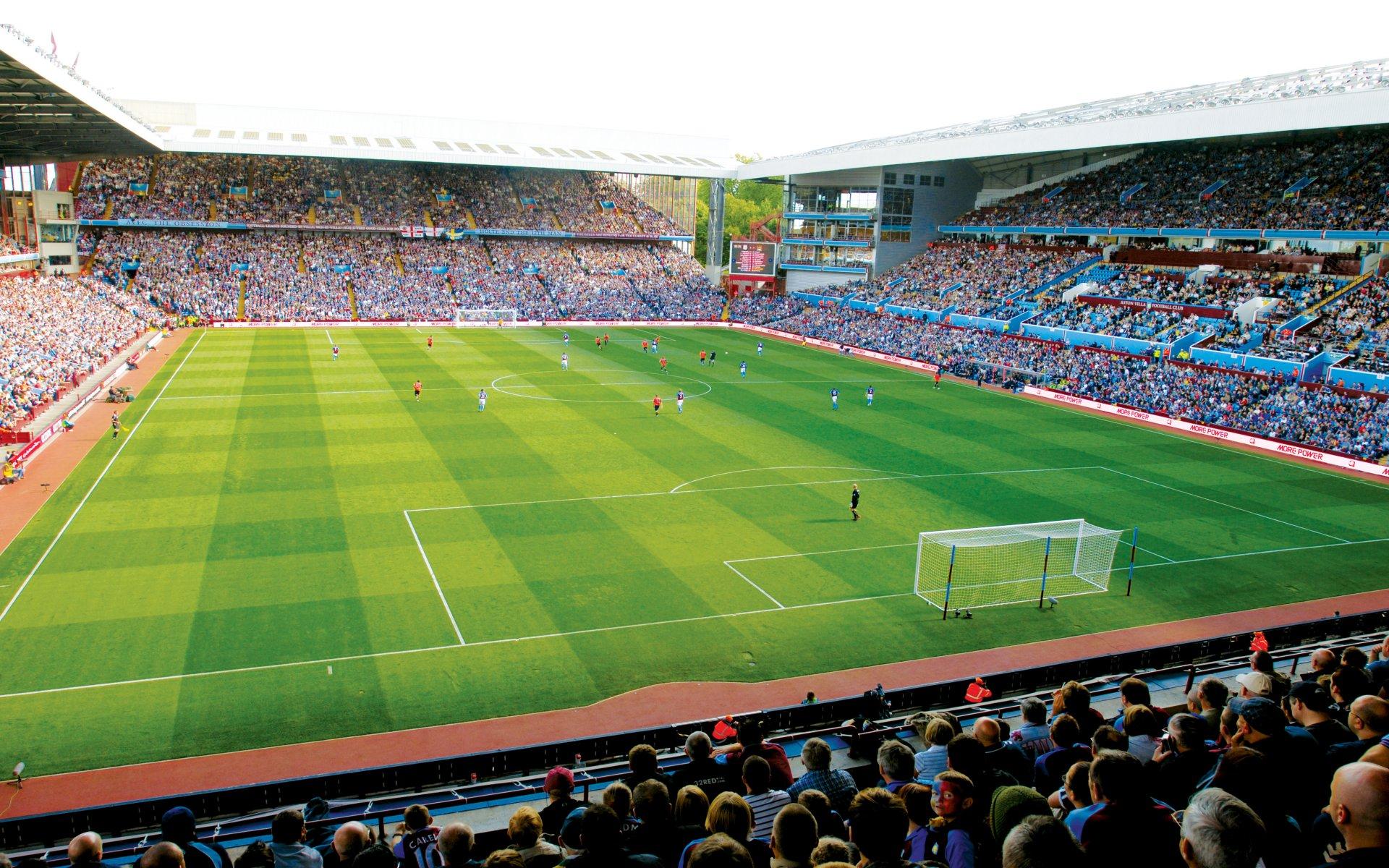 Aston Villa F.C. (Football Club) Of The Barclay's Premier