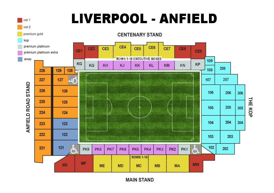 Room Floor Plan Free Liverpool F C Football Club Of The Barclay S Premier League