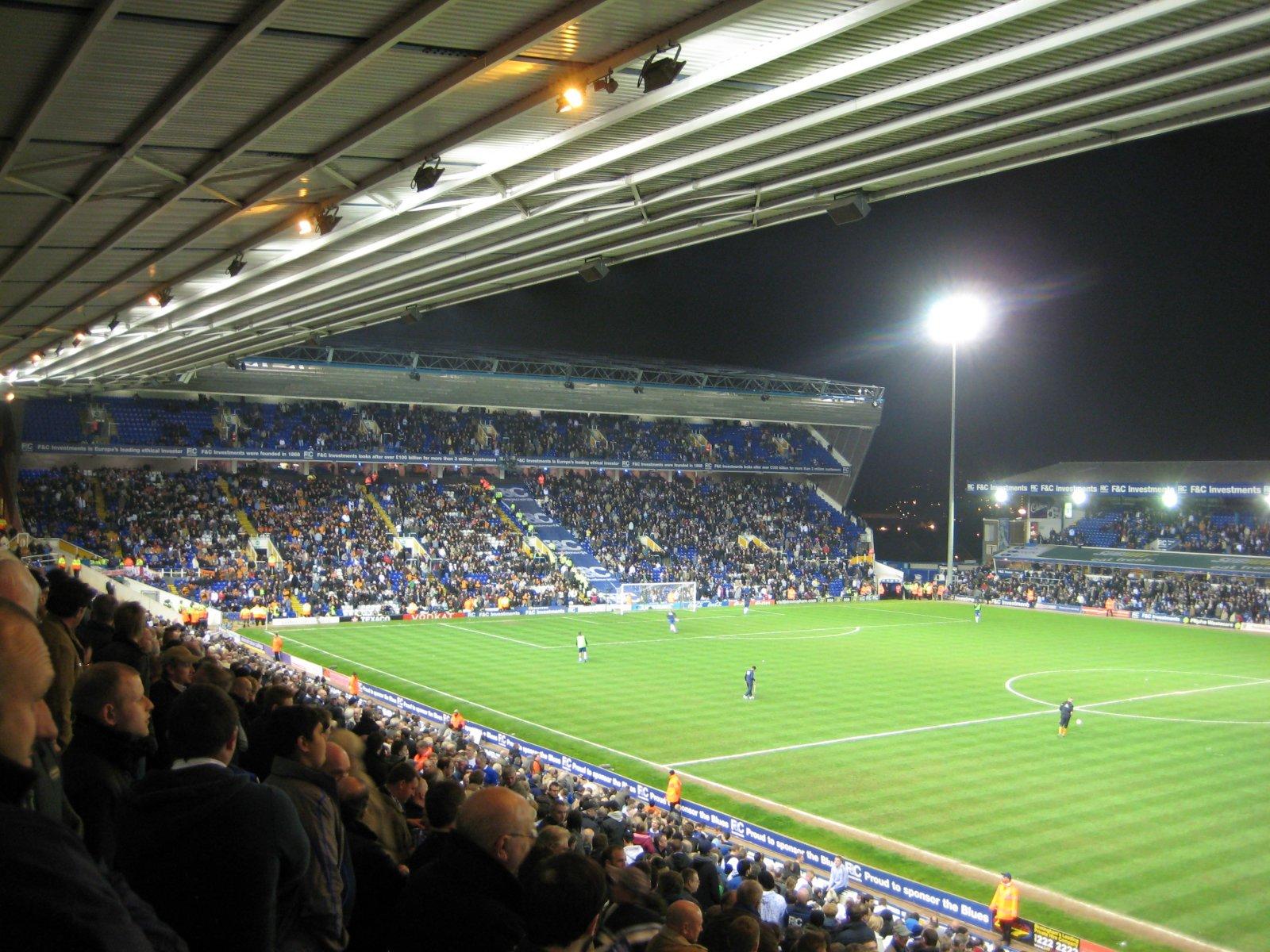 Birmingham City F.C. (Football Club) Of The Barclay's