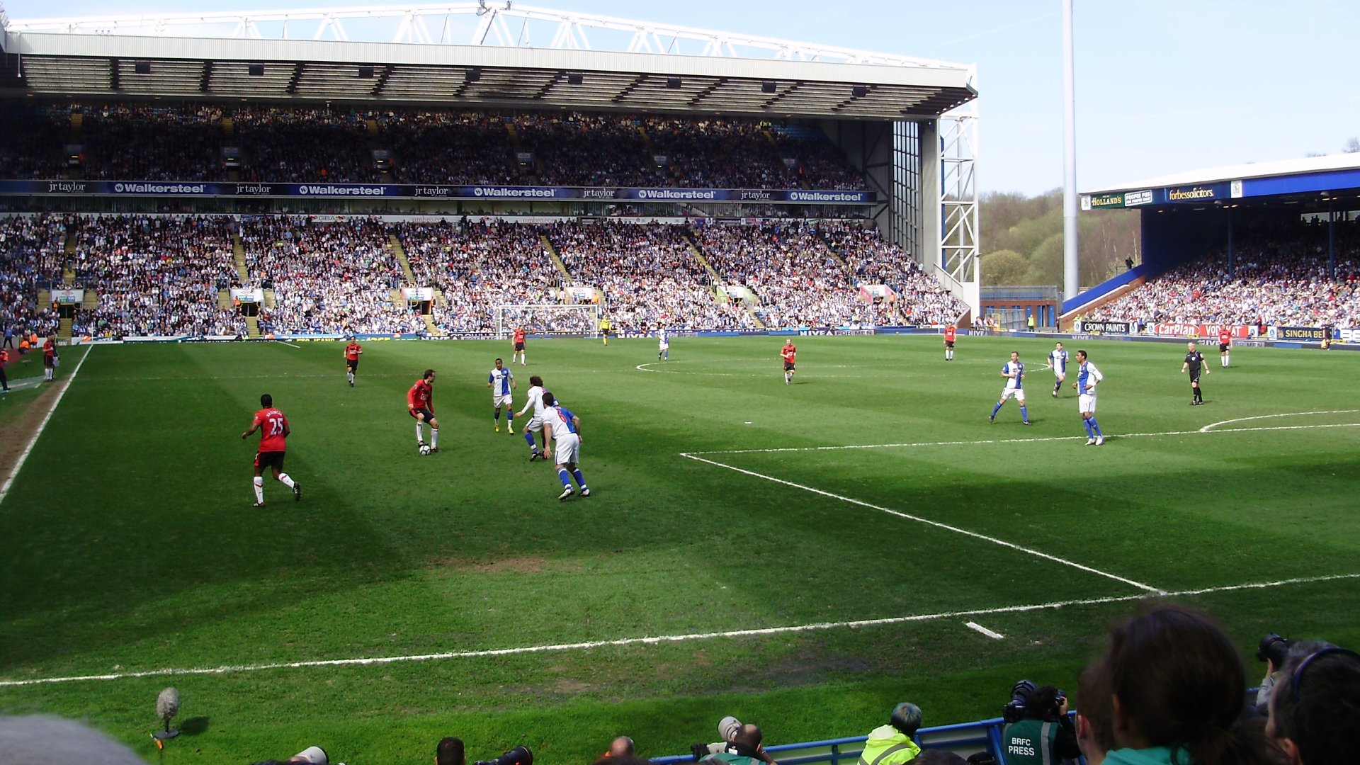 Blackburn Rovers F.C. (Football Club) Of The Barclay's
