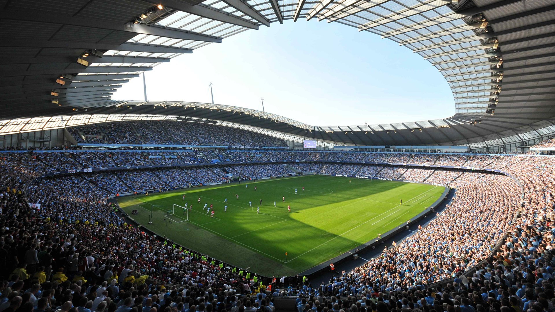 City Of Manchester Stadium: Manchester City F.C. (Football Club) Of The Barclay's