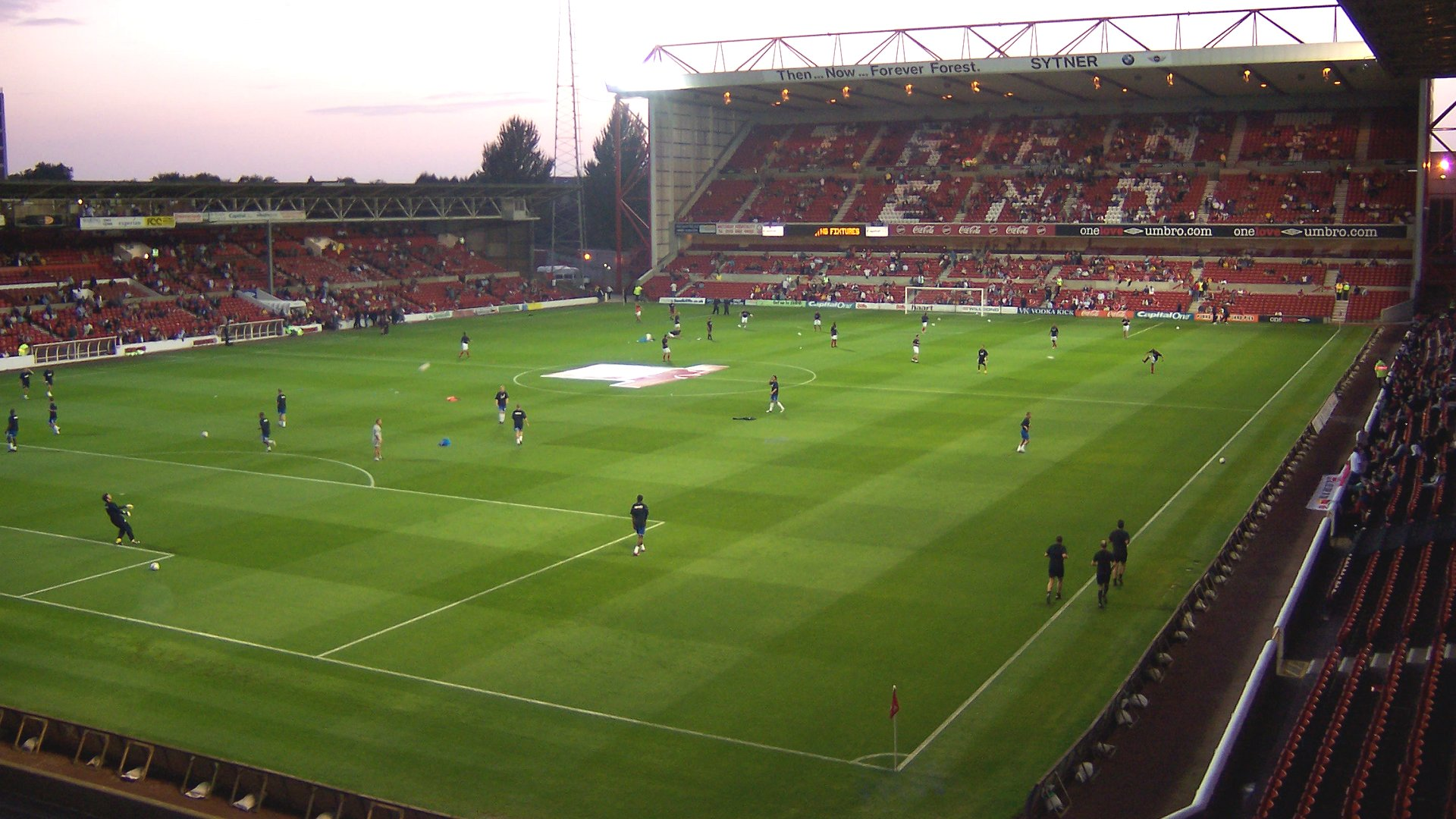 Nottingham Forest F.C. (Football Club) Of The Barclay's