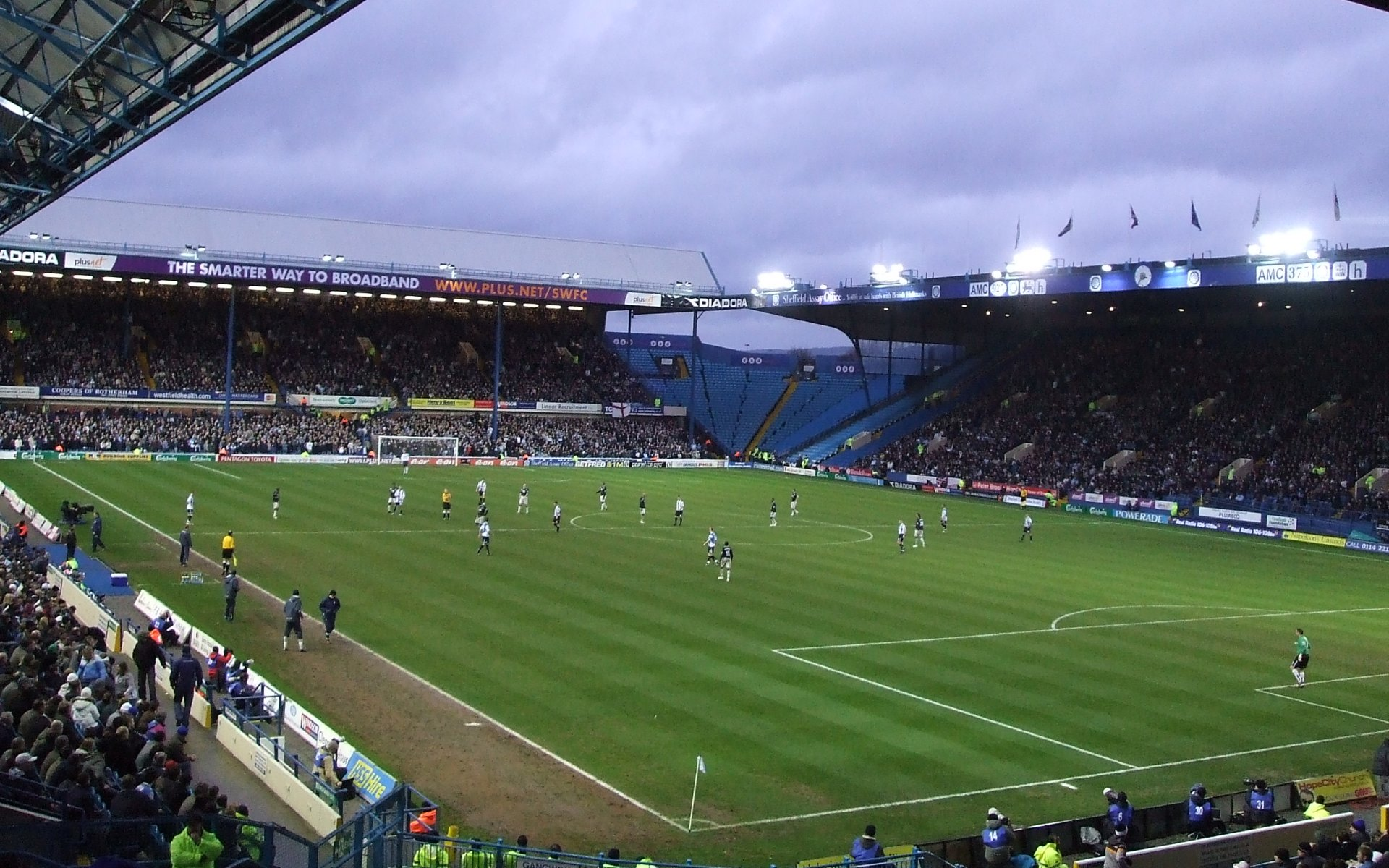 Sheffield Wednesday F.C. (Football Club) Of The Barclay's